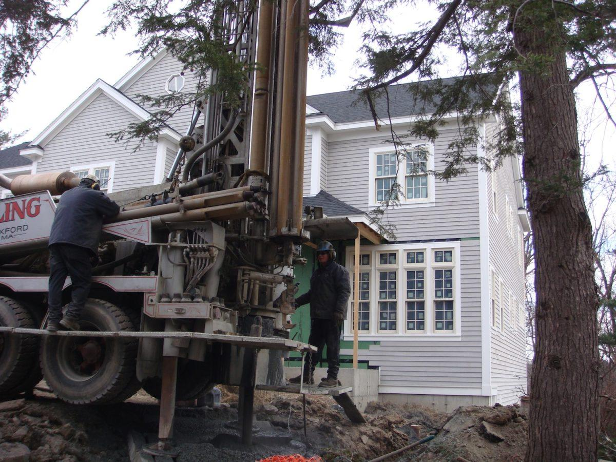 Case Study: Geothermal Installation in New Construction, Lexington, MA